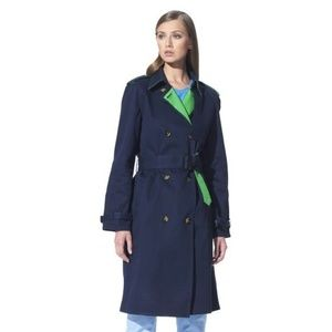 NWT 3.1 Phillip Lim for Target Navy Trench Coat, M